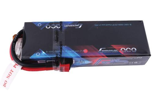 5000mAh 7.4V 100C 2S1P HardCase Lipo Battery pack #21 Racing Series