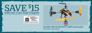 BLH7400A 180 QX HD RTF or BNF Quadcopter