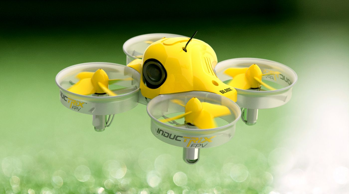 This mini drone has a lot fo fun in a small size