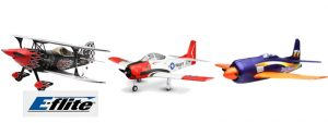 E-Flite Planes and Blade Drones Available