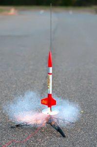 Model rockets at Nankin Hobby!