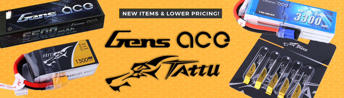 Gens Ace / Tattu Batteries