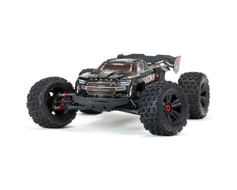 Arrma Kraton 1/5 EXB EXtreme Bash Roller Speed 4WD Monster Truck (Black)