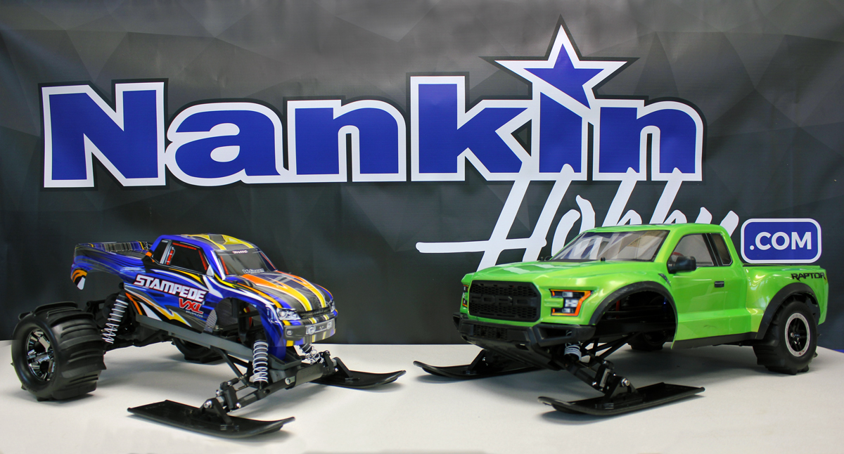 Traxxas 2WD Snow Conversion Tutorial - Nankin Hobby