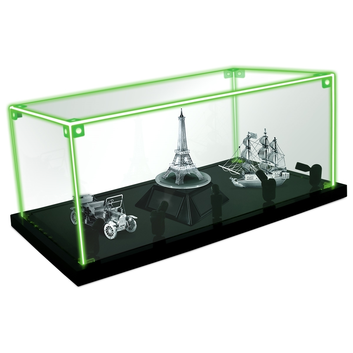 Metal Earth Lighted Display Case